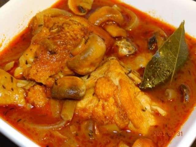 Recettes de poulet de petits menus entre amis - Poulet marengo recette ...