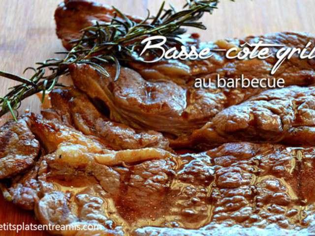 Recettes de cote de boeuf au barbecue de petits plats for Plats entre amis