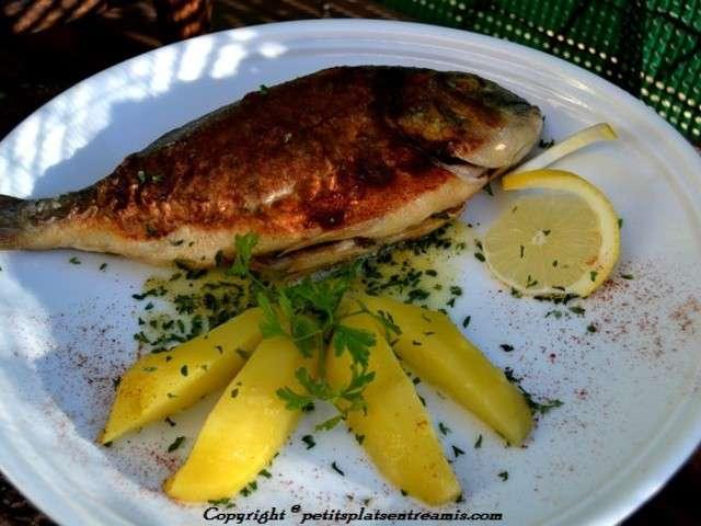 Recettes de poisson grille - Poisson a la poele ...