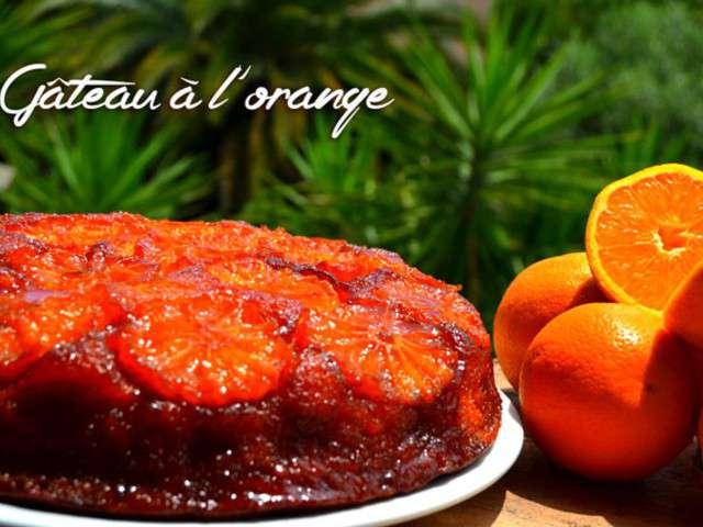 Recettes de g teau l 39 orange de petits plats entre amis for Plats entre amis