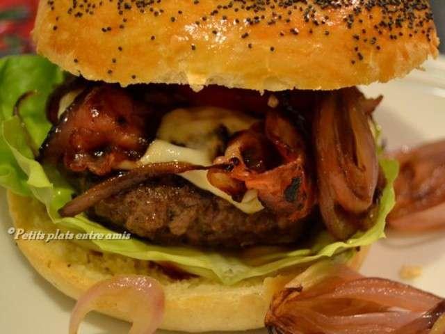 Les meilleures recettes de hamburger for Plats entre amis