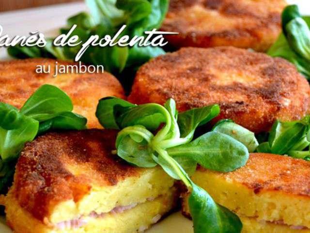 Panes de polenta au for Plat rapide entre amis