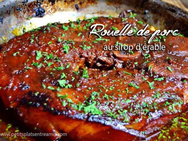 Recettes de rouelle de porc et rable for Petit plat entre amis