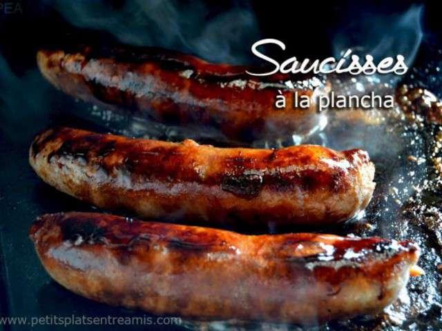 Recettes de Plancha et Saucisse