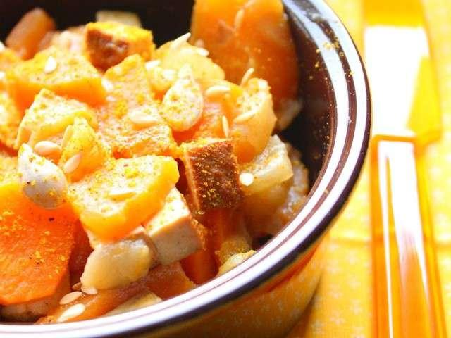 Les meilleures recettes de tofu fum et l gumes for Petits repas entre amis