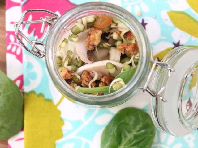 Recettes de salades de petits repas entre amis for Menu de repas entre amis