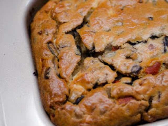 Cake Aux Aubergines Et Feta