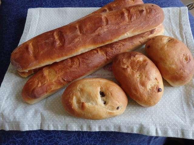 Recettes de baguette de plaisirs de la maison for Baguette du maison