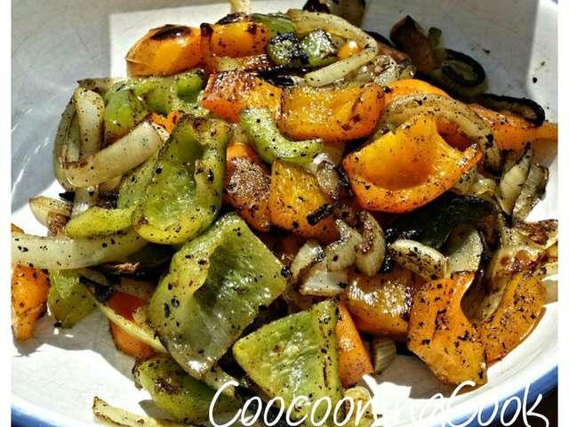 Recettes de Légumes à la Plancha