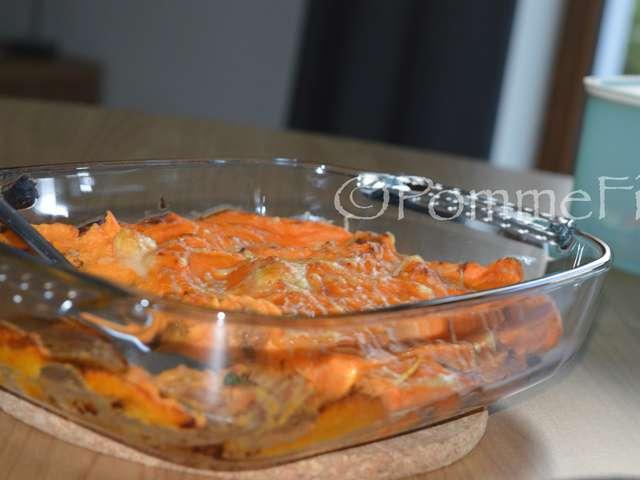 Recettes de poulet et gratins - Recette poulet patate douce ...