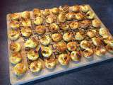Mini quiches chorizo mozzarelle