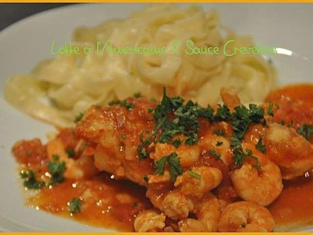 Les meilleures recettes de sauces et crevettes - Lotte a l armoricaine recette cuisine ...