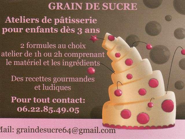 Recettes de patisserie de grain de sucre - Atelier cuisine pour enfants ...