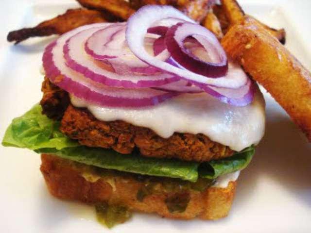 les meilleures recettes de burger de presque v g. Black Bedroom Furniture Sets. Home Design Ideas