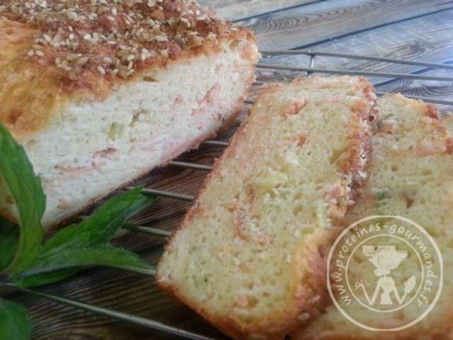 Cake Sans Gluten Saumon Frais Olive
