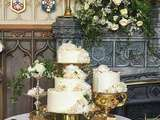Wedding cake de Harry et Meghan... ( et le reste du menu )