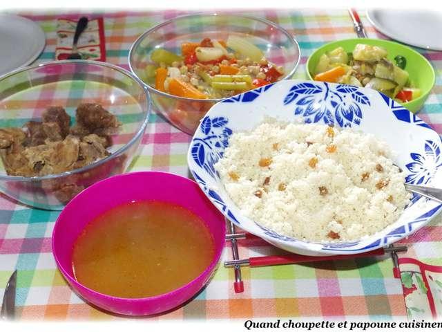 Recettes de couscous et cuisine rapide for Cuisine rapide