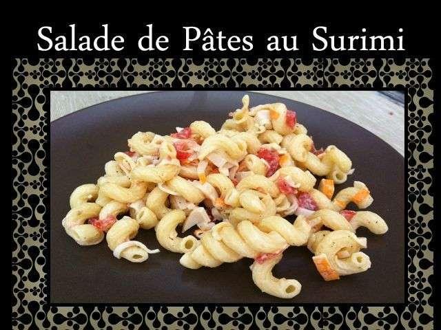 les meilleures recettes de surimi et salades