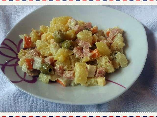 Recettes de salades de quand ma plume chatouille mes cocottes - Quand repiquer les salades ...