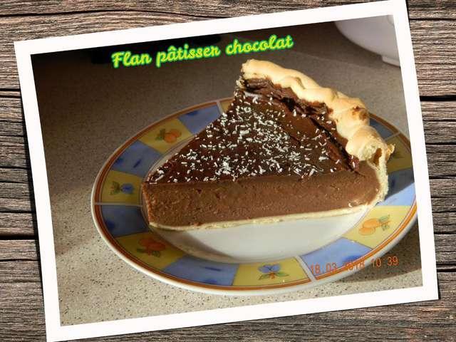 Recettes de flan patissier et chocolat - Blogs recettes de cuisine ...