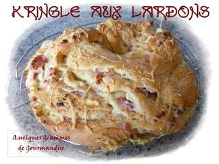 Kringle aux lardons (Thermomix)