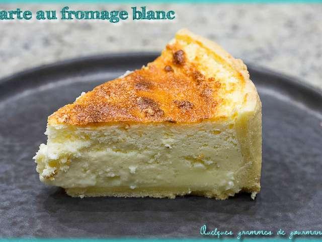 Recettes De Tarte Au Fromage Blanc
