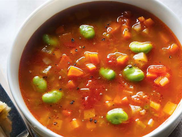 Recettes de soupe aux legume de quoi faire manger - Soupe de legumes maison ...