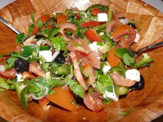 recettes de salade grecque de recettes d 39 une m re de famille nombreuse. Black Bedroom Furniture Sets. Home Design Ideas