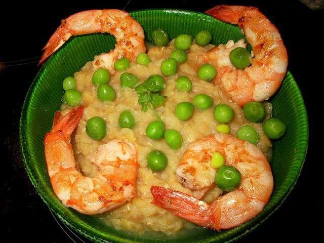Recettes de gambas de recettes de crevettes - Cuisiner les petits pois frais ...