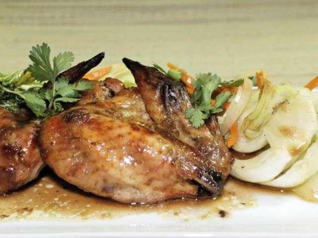Recettes d 39 ailes de poulet et gingembre - Cuisiner des ailes de poulet ...