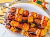 Brochettes de brunch au sirop d'érable