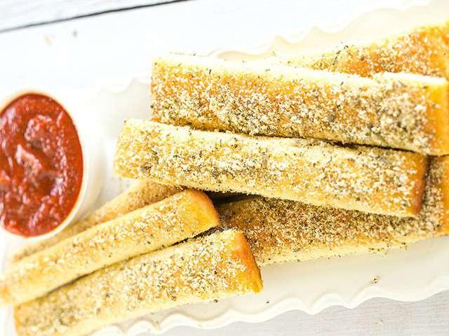 Recettes de baguette et pizza for Baguette du maison