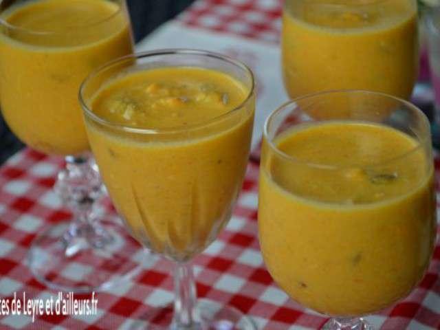 Recettes de soupe aux moules - Apero chic et facile ...