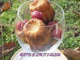 Cannele bordelais au vin d'orange programmables, congeles
