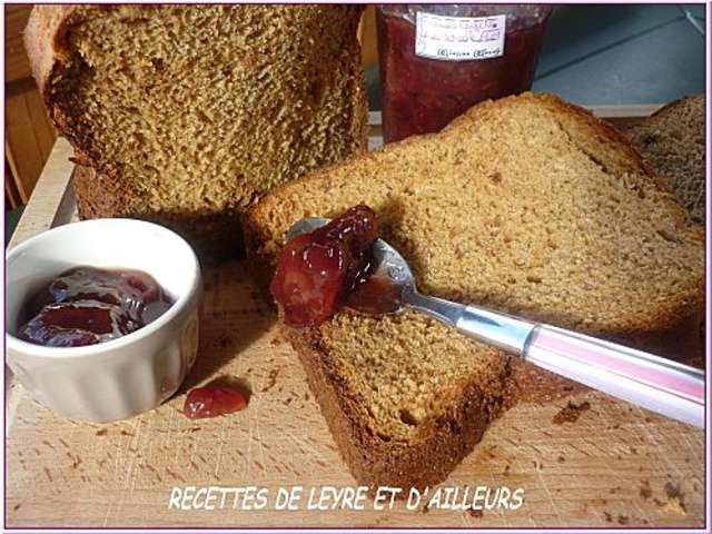 Recettes de pain et machine pain 10 - Pain de mie machine a pain ...