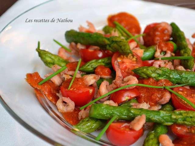 Recettes de vinaigrette et crevettes - Cuisiner des tomates vertes ...