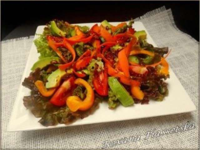 Recettes de salade verte compos e - Salade verte composee ...
