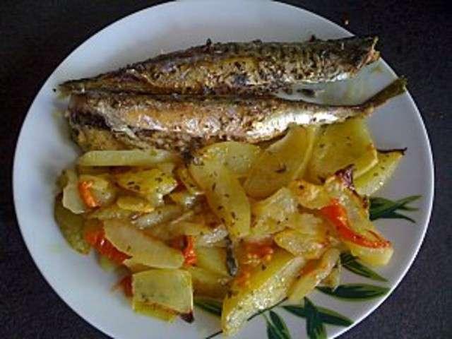 Les meilleures recettes de maquereaux - Recette poisson grille au four ...