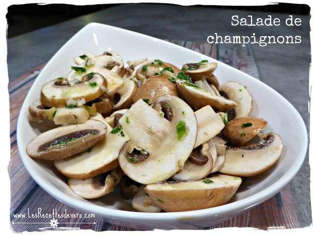 Recettes de Champignons et Salades