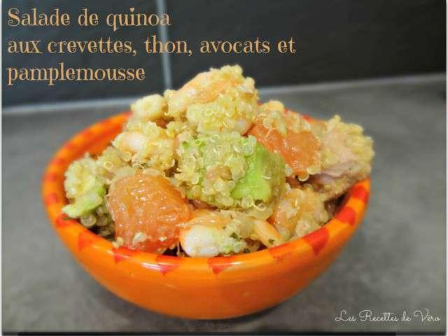 recettes de salade de quinoa et thon. Black Bedroom Furniture Sets. Home Design Ideas