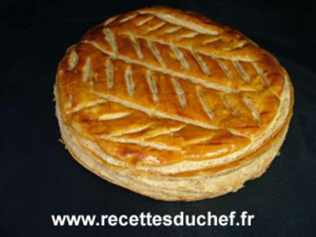 Recettes de galette des rois de recettes du chef - Recette facile galette des rois ...