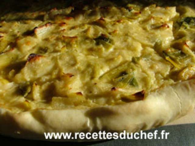 Recette Tarte Ou Cake Poireaux