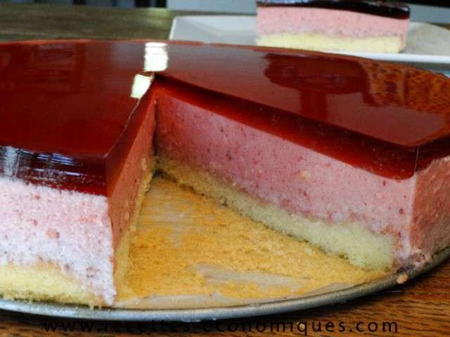 Les meilleures recettes de fraises et bavarois for Miroir aux fraises