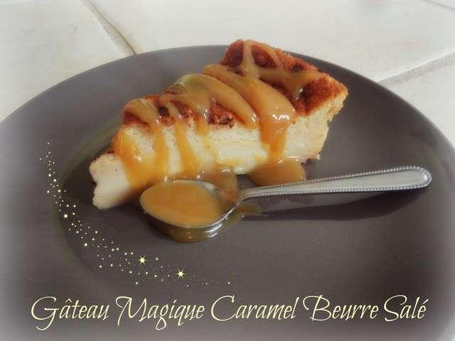 Recettes de g teau magique et beurre sal - Recette caramel beurre sale breton ...