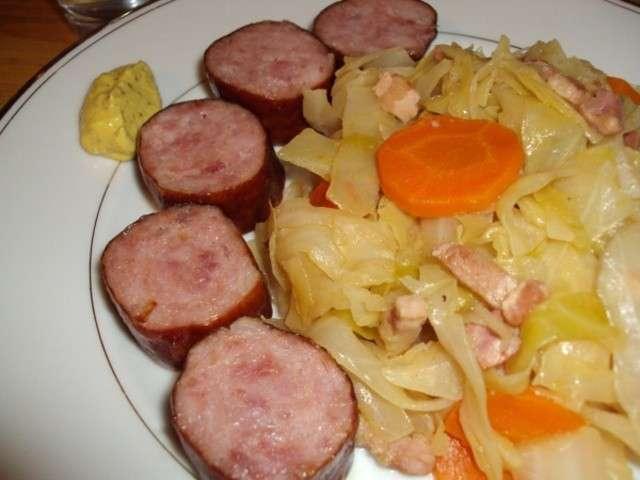 recettes de chou blanc et lardons