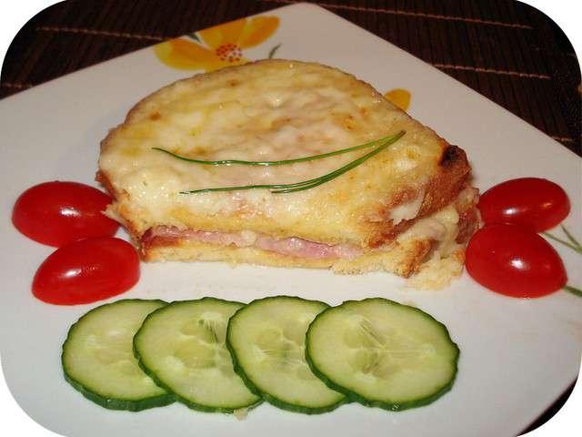 Recettes de croque monsieur de recettes simples - Sachet cuisson croque monsieur grille pain ...