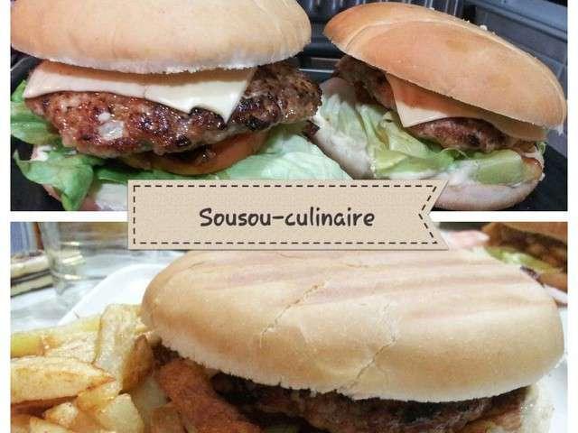 Recettes de pain et burger 2 - Herve cuisine hamburger ...