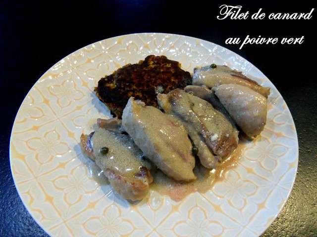 Recettes de canard au poivre vert - Cuisiner un filet de canard ...