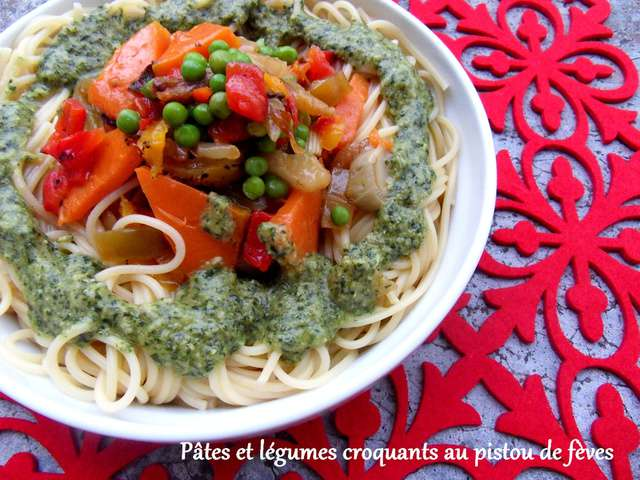 Recettes De Pates Aux Legumes