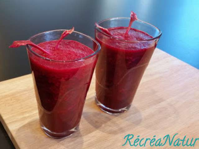 Smoothie pomme betterave pour une entree saine et coloree for Des entrees facile realiser